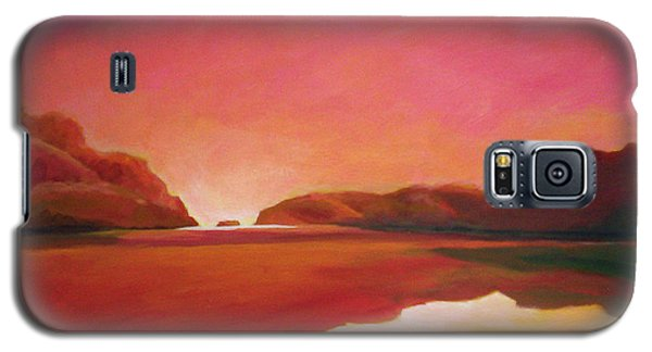 Sunset Estuary Galaxy S5 Case