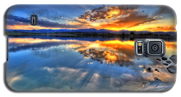 Sunset Explosion Galaxy S5 Case by Scott Mahon