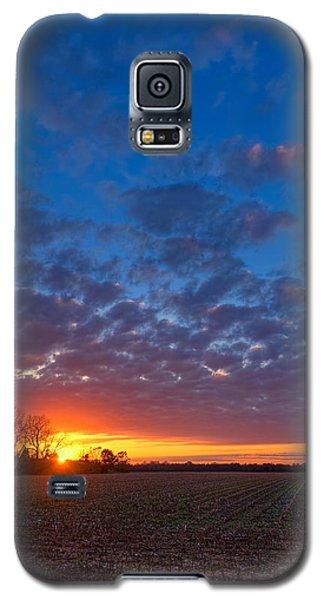Sunset Field Galaxy S5 Case