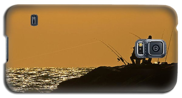 Sunset Fishermen Galaxy S5 Case