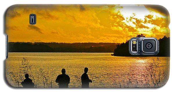 Sunset Fishermen Smith Mountain Lake Galaxy S5 Case