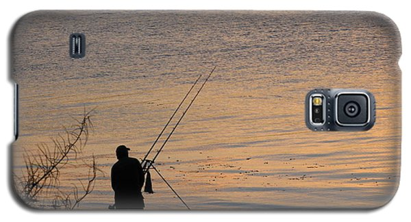 Sunset Fishing On The Loch Galaxy S5 Case