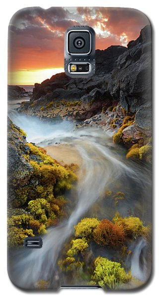 Sunset Flow Galaxy S5 Case
