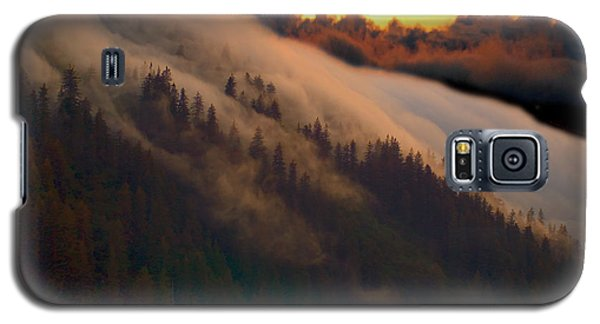 Sunset Fog Galaxy S5 Case