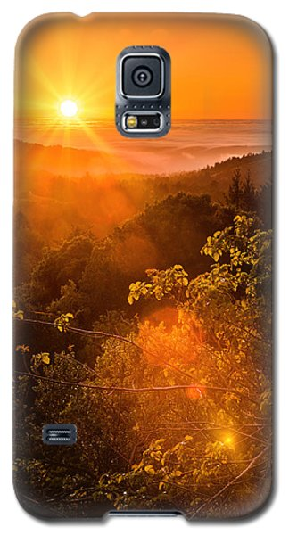 Sunset Fog Over The Pacific #2 Galaxy S5 Case