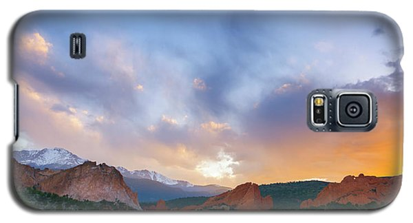 Galaxy S5 Case featuring the photograph Sunset Forever by Tim Reaves