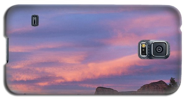 Galaxy S5 Case featuring the photograph Sunset From Bell Rock Trail by Laura Pratt