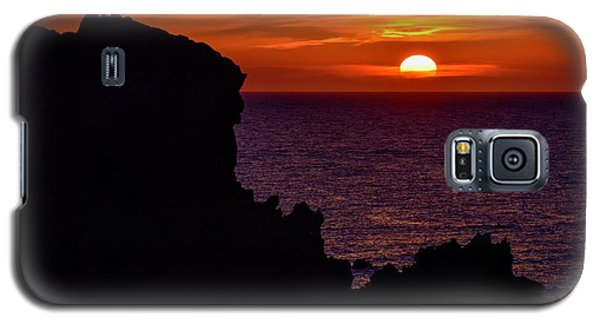 Sunset From Costa Paradiso Galaxy S5 Case
