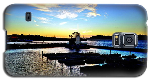 Galaxy S5 Case featuring the photograph Sunset From Pier 39 - San Fransisco by Glenn McCarthy Art and Photography
