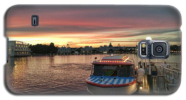 Sunset From The Boardwalk Galaxy S5 Case