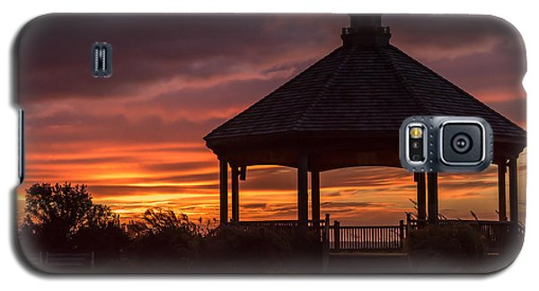 Sunset Gazebo Lavallette New Jersey Galaxy S5 Case