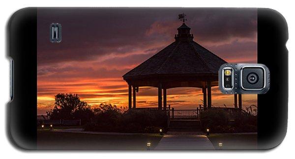 Sunset Gazebo Lavallette New Jersey Galaxy S5 Case