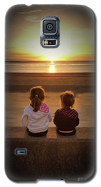 Sunset Sisters Galaxy S5 Case