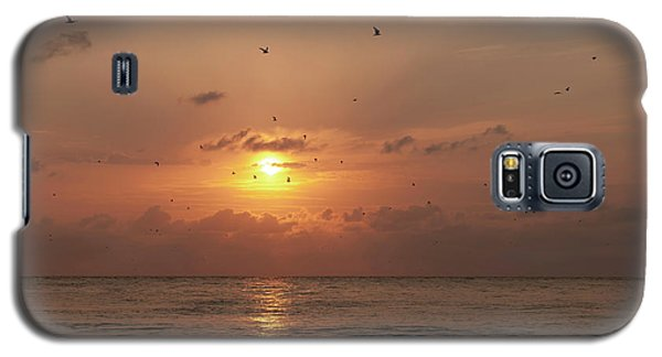 Galaxy S5 Case featuring the photograph Sunset by Gouzel -