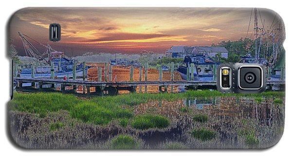 Sunset Harbor Dream Galaxy S5 Case