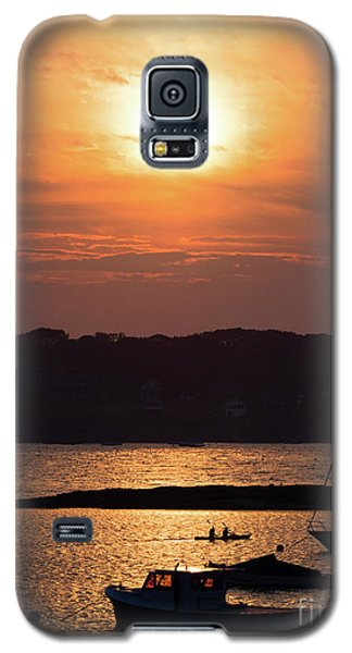 Galaxy S5 Case featuring the photograph Sunset, Harpswell, Maine #20052 by John Bald