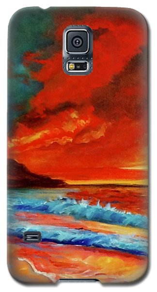 Sunset Hawaii Galaxy S5 Case by Jenny Lee