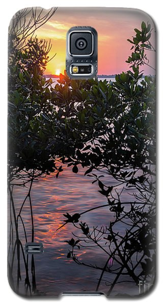 Galaxy S5 Case featuring the photograph Sunset, Hutchinson Island, Florida  -29188-29191 by John Bald