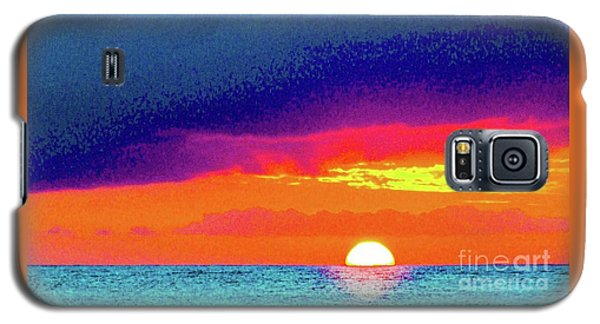 Sunset In Abstract  Galaxy S5 Case