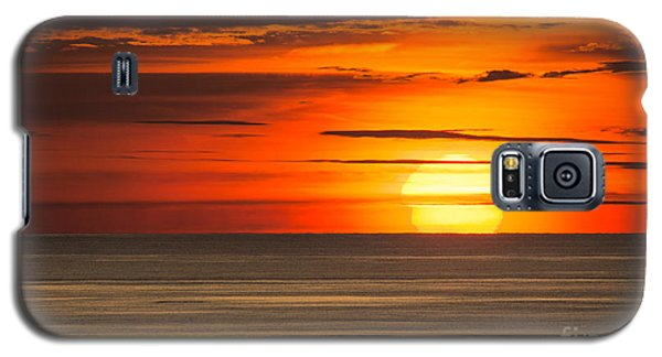 Sunset In Bermuda Galaxy S5 Case