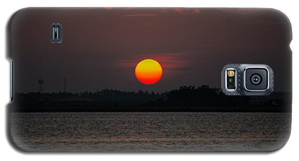 Sunset In Biloxi Galaxy S5 Case