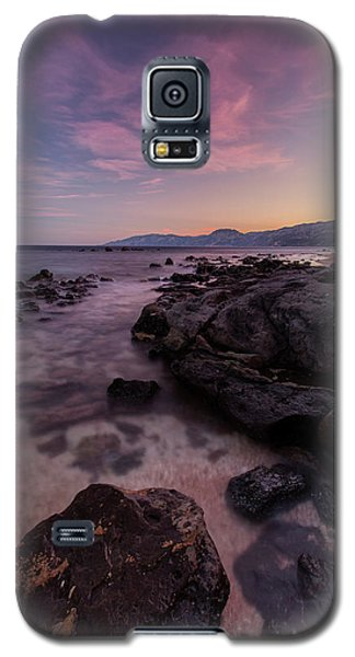 Sunset In Cala Gonone Galaxy S5 Case