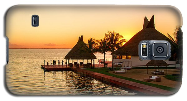 Sunset In Cancun Galaxy S5 Case