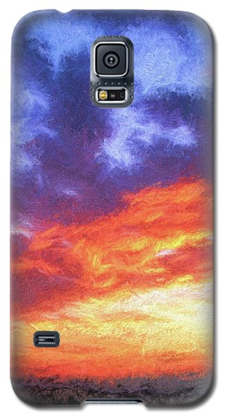 Sunset In Carolina Galaxy S5 Case