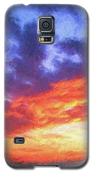 Sunset In Carolina Galaxy S5 Case