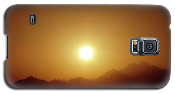 Sunset In Egypt 7 Galaxy S5 Case