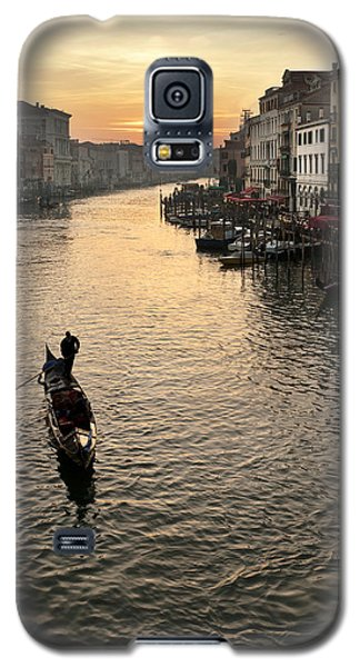 Sunset In Grand Canal Galaxy S5 Case