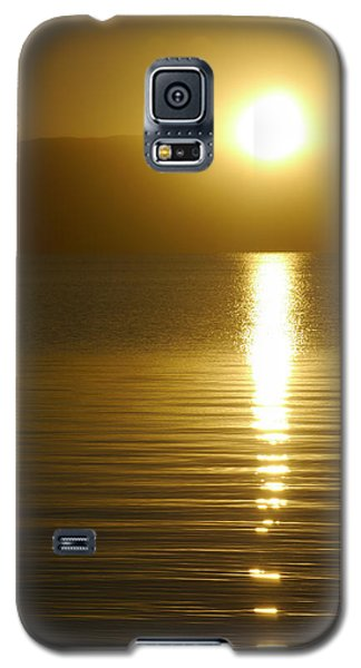 Sunset In January Galaxy S5 Case