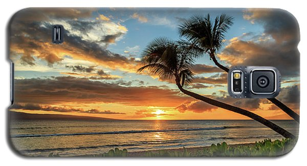 Galaxy S5 Case featuring the photograph Sunset In Kaanapali by James Eddy