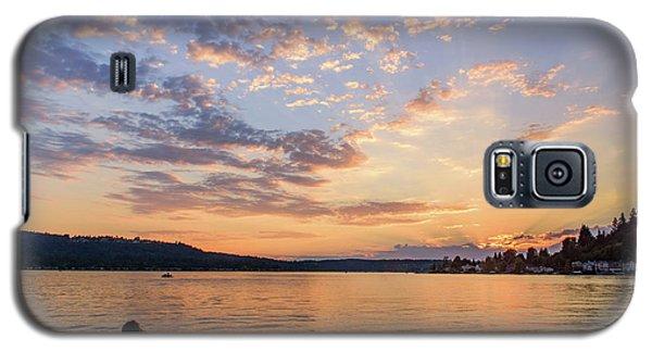 Sunset In Lake Sammamish Galaxy S5 Case