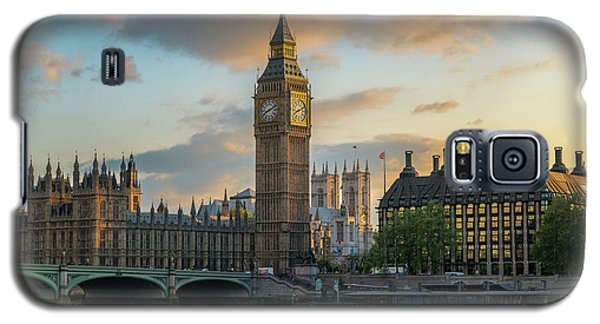 Sunset In London Westminster Galaxy S5 Case