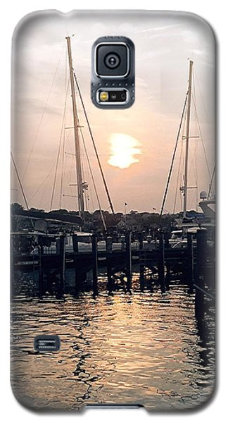 Sunset In Nantucket Galaxy S5 Case