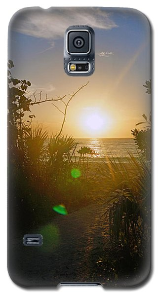 Sunset In Naples At Barefoot Beach Galaxy S5 Case