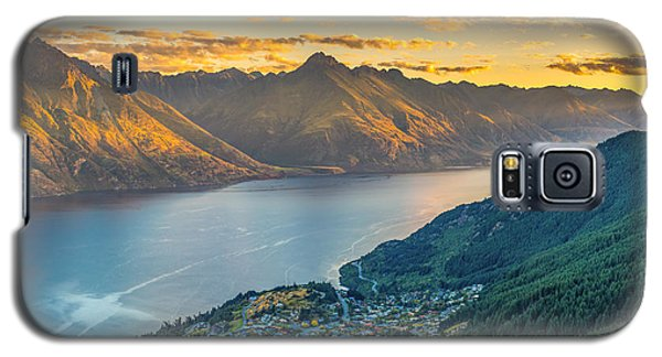 Sunset In New Zealand Galaxy S5 Case