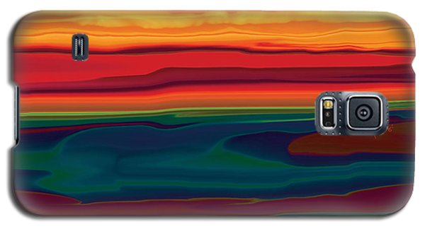 Sunset In Ottawa Valley Galaxy S5 Case