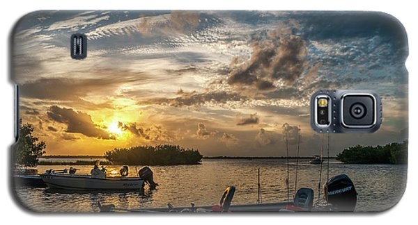 Sunset In Paradise Galaxy S5 Case