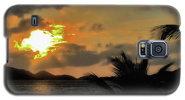 Galaxy S5 Case featuring the photograph Sunset In Paradise by Jim Hill