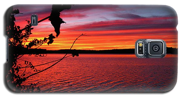 Galaxy S5 Case featuring the photograph Sunset In Pennsylvania by Donna Brown