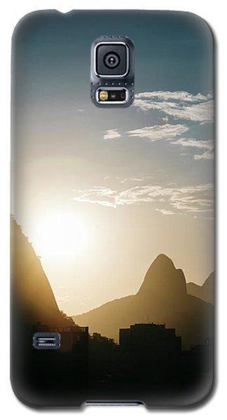 Sunset In Rio De Janeiro, Brazil Galaxy S5 Case