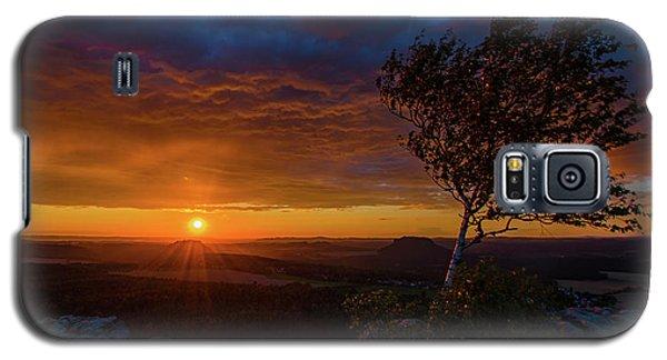 Sunset In Saxonian Switzerland Galaxy S5 Case
