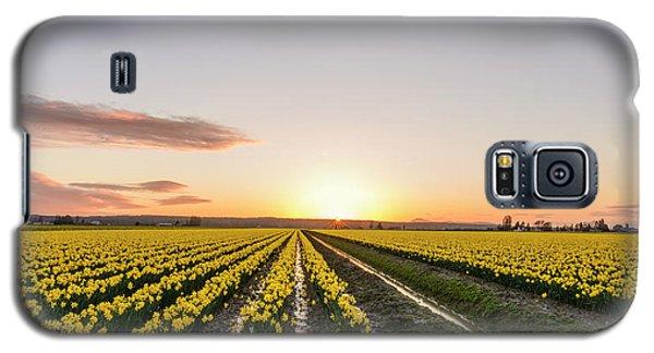 Sunset In Skagit Valley Galaxy S5 Case