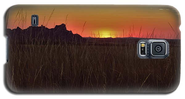 Sunset In The Badlands Galaxy S5 Case
