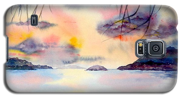 Sunset In The Caribbean Galaxy S5 Case
