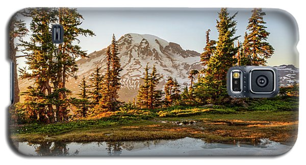 Sunset In The Pinnacle Saddle Galaxy S5 Case