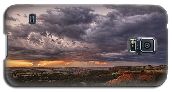 Sunset In The Red Hills Galaxy S5 Case