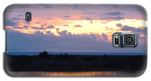 Sunset In The River Sea Beyond Galaxy S5 Case by Expressionistart studio Priscilla Batzell